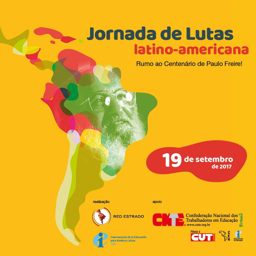 cnte jornada de lutas latino americana facebook post
