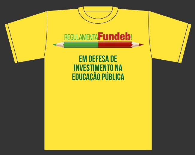 camiseta regulamenta fundeb