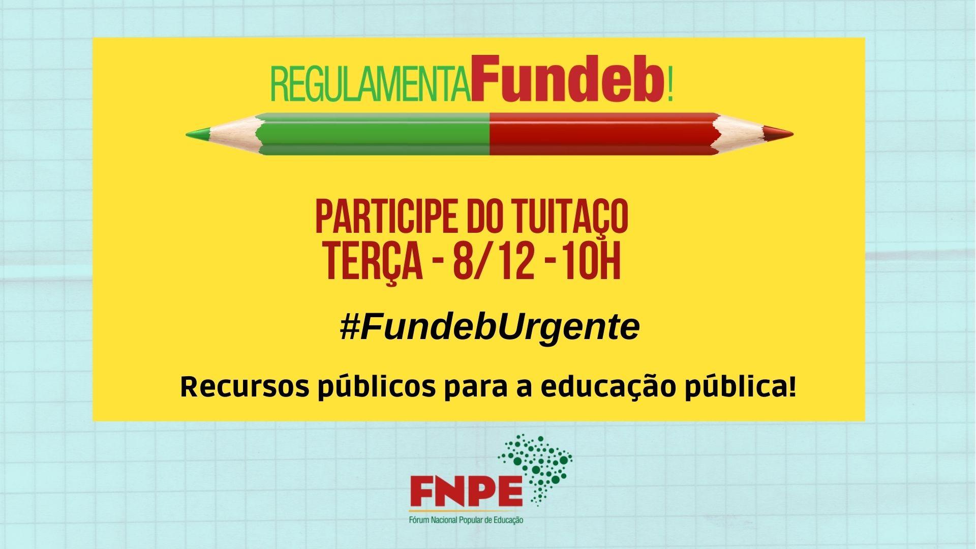fundeb urgente dez 2020 participe tuitaco twitter